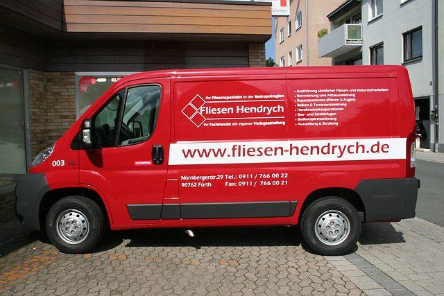 Nürnberg Fürth Erlangen Zirndorf Wir Machen Werbung Drucken - Fliesen beflocken